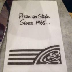 Pizzaexpressnapkin
